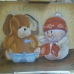 Paintings for Erik's room
