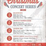 Christmas Concert Series 2013 at St. James Cavalier, Valletta