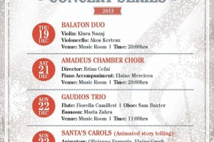 Christmas Concert Series 2013 at St. James Cavalier, Valletta