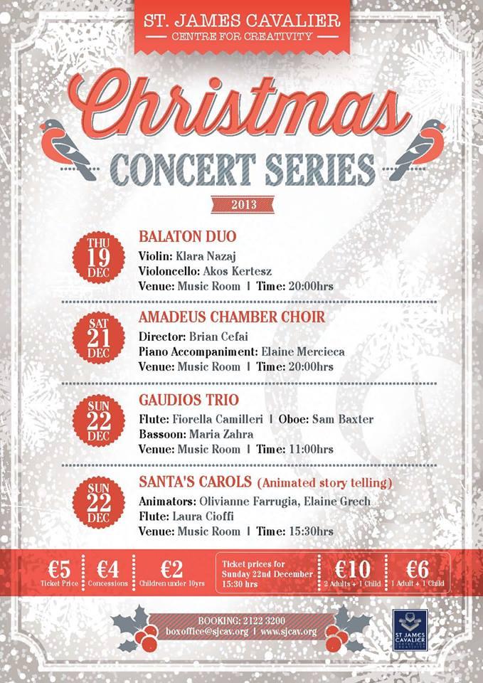 christmas concert series