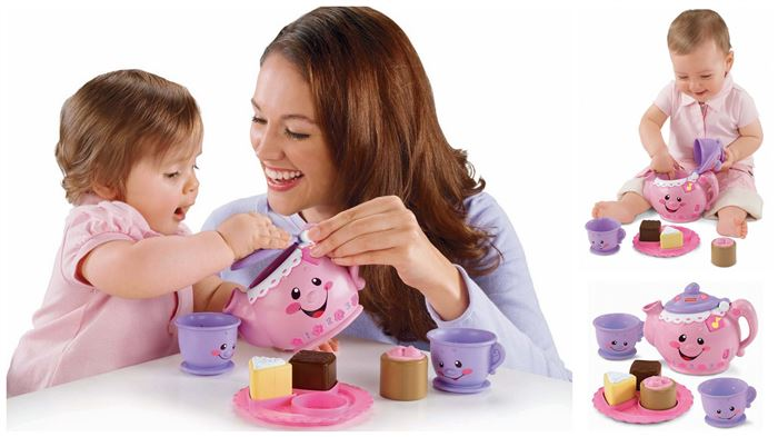 Fisher Price Say Please Tea Set