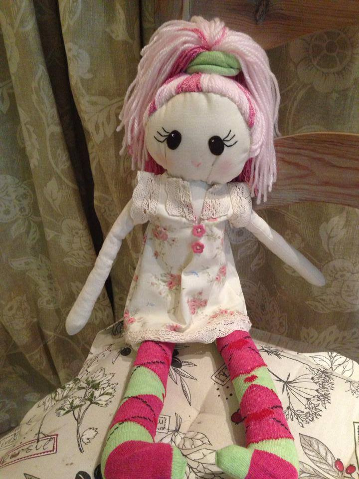 Abbey cloth doll