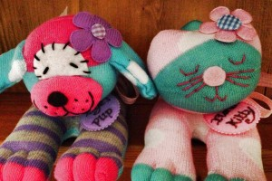 5% off on handmade toys by MyMy Sock Monkeys & Doll Face
