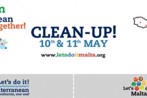 Malta Clean Up event on 10 and 11 May 2014 by Let's Do It Malta