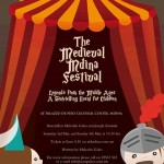 Medieval Mdina Festival 3 and 4 May 2014 for kids 4+ years old