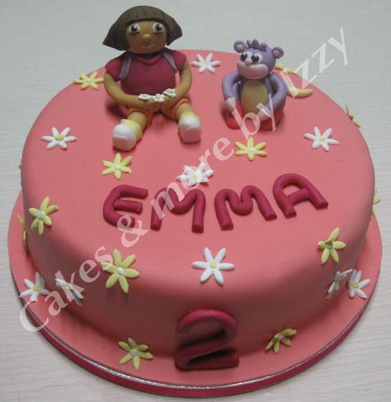 Dora&BootsCake