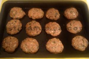 Meatballs recipe à la Liza