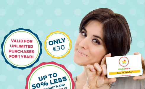 Maltamum Card – Up to 50% less on everything your family needs