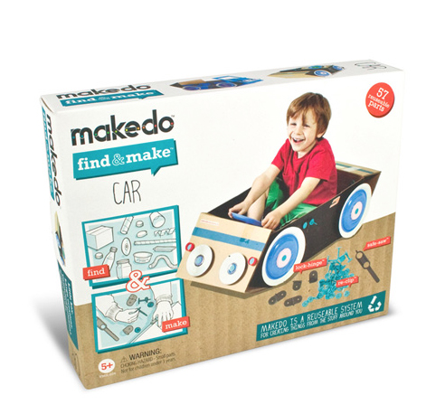 Makedo find and make a car