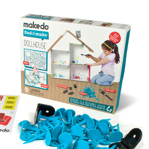 Makedo find and make a dollhouse