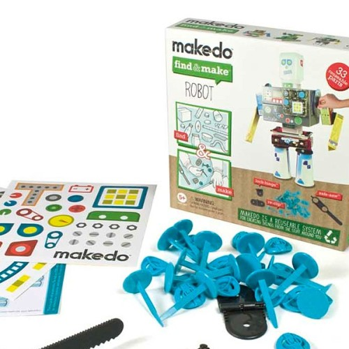 makedo find and make a robot kit