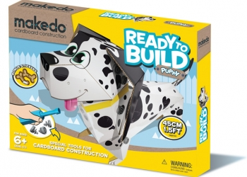 Makedo ready to build puppy
