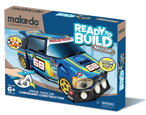 Makedo ready to build rally car