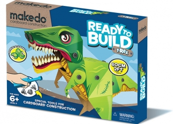Makedo ready to build trex