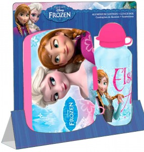Disney Frozen Lunch box and Bottle Sets