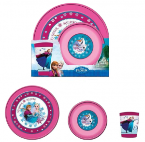 Disney Frozen Plastic Breakfast Set