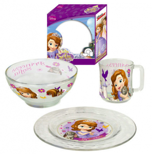 Disney Sofia Breakfast Set
