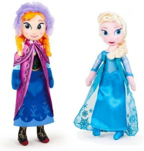 Large Anna & Elsa Soft Toys (50cm) sold seperately
