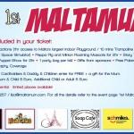 1st Maltamum Party – celebrating 1 year Maltamum Card