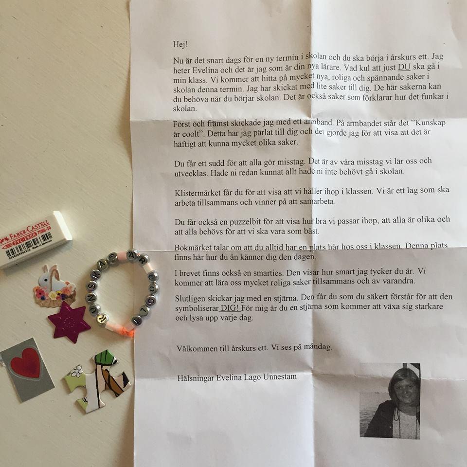 letter sweden