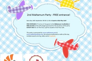 2nd Maltamum Party – Free entrance