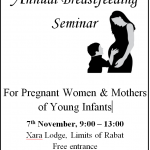 National Breastfeeding Week 2015 – FREE breastfeeding seminar