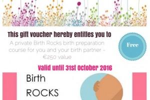 Win a private birth preparation course worth €250
