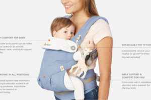 How to use my Ergobaby 360 carrier from infancy to toddlerhood