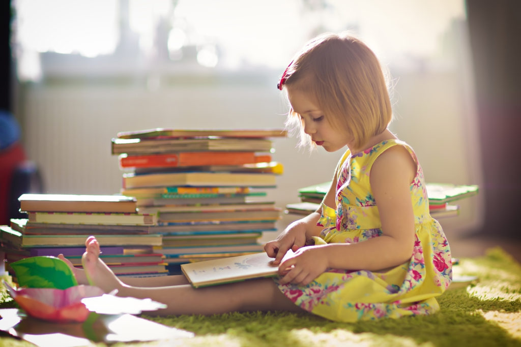 Reading books for pleasure enables our children to thrive