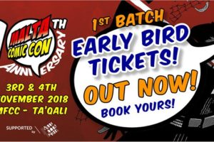 Malta Comic Con celebrates 10 years! What's on?
