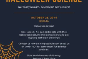 Halloween stories and activities for children in Malta
